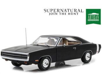 Greenlight 19046 Supernatural 1970 Dodge Charger 1:18 Black