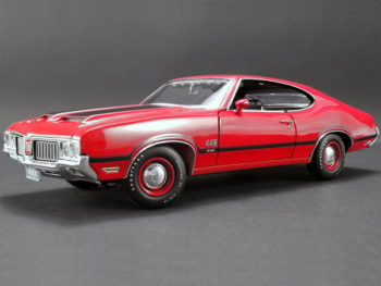 Acme A1805608 1970 Oldsmobile 422 W-30 1:18 Red