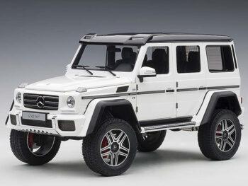 AUTOart 76316 Mercedes Benz G 500 4×4 2 1:18 Gloss White