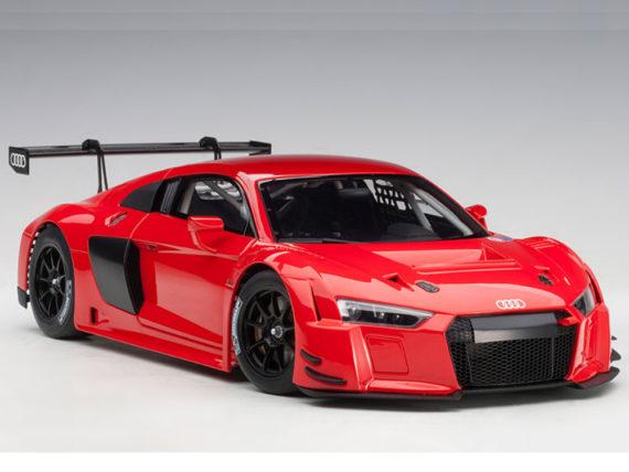 AUTOart 81601 Audi R8 LMS 1:18 Plain Color Version Red