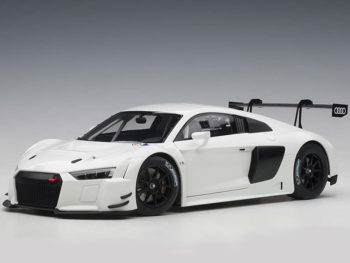 AUTOart 81602 Audi R8 LMS 1:18 Plain Color Version white