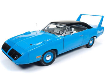 Autoworld Amm1137 1970 Plymouth Superbird 50th Anniversary 1:18 Blue