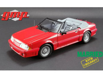 Gmp 18904 Married with Children 1988 Ford Mustang 5.0 Convertible 1:18 Red