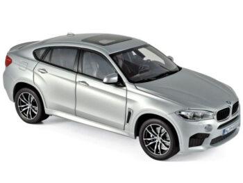 Norev 183200 2016 BMW X6 M SUV 1:18 Silver Metallic