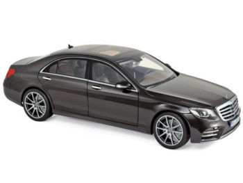 Norev 183483 2018 Mercedes Benz S Class AMG Line 1:18 Ruby Black Metallic