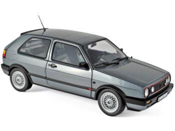 Norev 188442 1990 Volkswagen Golf II GTi 1:18 Grey Metallic