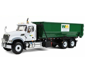 First Gear 19-3441T Mack Granite Roll Off Waste Management Dump Truck 1:34