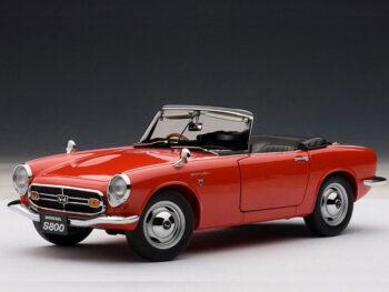 AUTOart 73276 1966 Honda S800 Roadster 1:18 Red