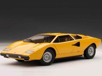 AUTOart 74646 Lamborghini Countach LP400 1:18 Yellow