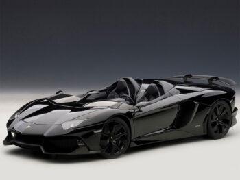 AUTOart 74676 Lamborghini Aventador J Roadster 1:18 Black