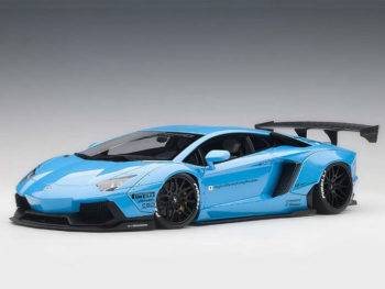 AUTOart 79107 Liberty Walk LB Works Lamborghini Aventador 1:18 Metallic Sky Blue