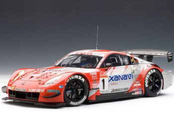 AUTOart 80485 Xanani Nismo Z 2004 Nissan JGTC Team & Drivers Champion #1 1:18 Red Silver