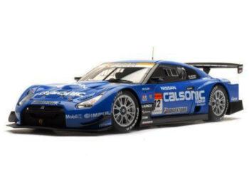 AUTOart 80877 Nissan GT-R Super GT 2008 Calsonic Impul #12 1:18 Blue