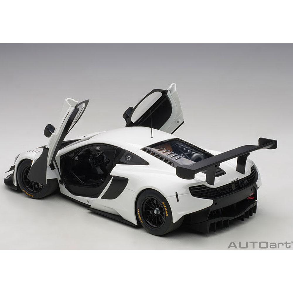 NEUF AUTOART 81641-1//18 McLaren 650 S gt3 Blue//Black Accents