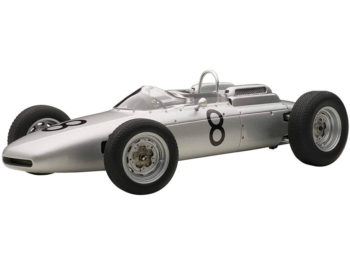 AUTOart 86272 Porsche 804 Formula 1 1962 #8 Jo Bonnier Nurburgring 1962 1:18 Silver