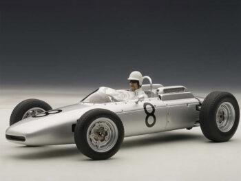 AUTOart 86274 Porsche 804 Formula 1 #8 Jo Bonnier Nurburgring 1962 1:18 with Figure