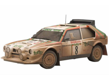 AUTOart 88619 Lancia S4 Rally Sanremo 1986 Cerrato/Cerri #8 1:18 Muddy Version