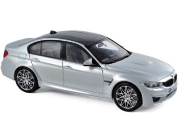 Norev 183235 2017 Bmw M3 Competition Package 1:18 Silver