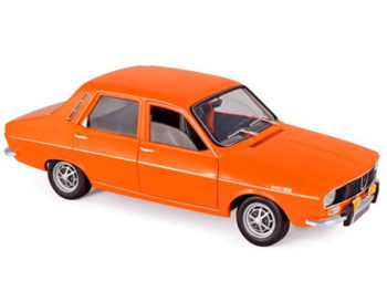 Norev 185211 1973 Renault 12 TS 1:18 Bright Orange