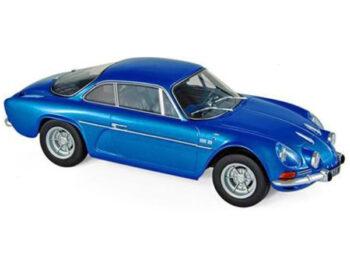 Norev 185300 1971 Renault Alpine A110 1600S 1:18 Metallic Blue