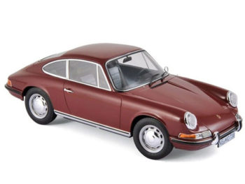 Norev 187630 1969 Porsche 911 T 1:18 Dark Red
