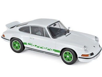 Norev 187636 1973 Porsche Carrera 911 RS Touring 1:18 White / Green