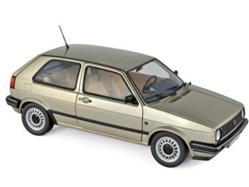 Norev 188519 1988 Volkswagen Golf CL 1:18 Beige Metallic
