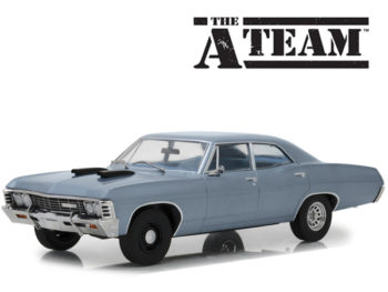Greenlight 19047 The A Team 1967 Chevrolet Impala Sport Sedan 1:18 Blue