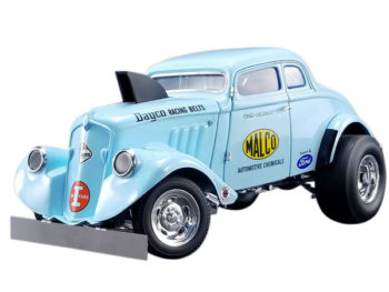 Acme A1800911 1933 Malco Gasser Ohio with Air Plow 1:18 Light Blue