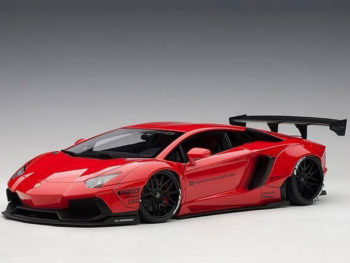 AUTOart 79108 Liberty Walk LB Works Lamborghini Aventador 1:18 Red