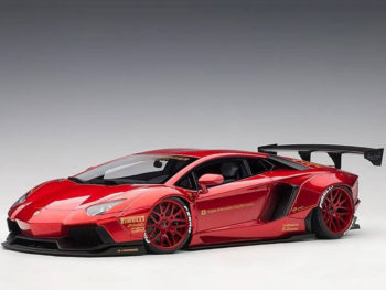AUTOart 79109 Liberty Walk LB Works Lamborghini Aventador 1:18 Metallic Red