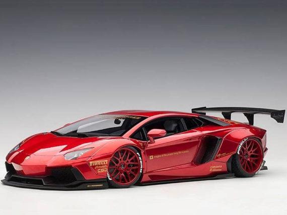 AUTOart 79109 Liberty Walk LB Works Lamborghini Aventador 1:18 Metallic Red