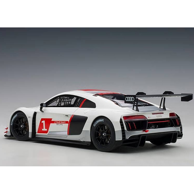 I Scale 1 18 2018 Mercedes Benz Glc Coupe White: AUTOart 81600 Audi R8 LMS Geneva Presentation Car 2016 1