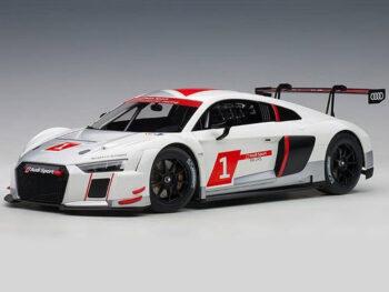 AUTOart 81600 Audi R8 LMS Geneva Presentation Car 2016 1:18 White