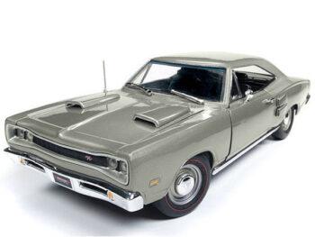 Autoworld Amm1141 1969 Dodge Coronet T/T 1:18 Silver