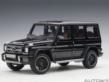 AUTOart 76322 2017 Mercedes Benz AMG G63 1:18 Gloss Black