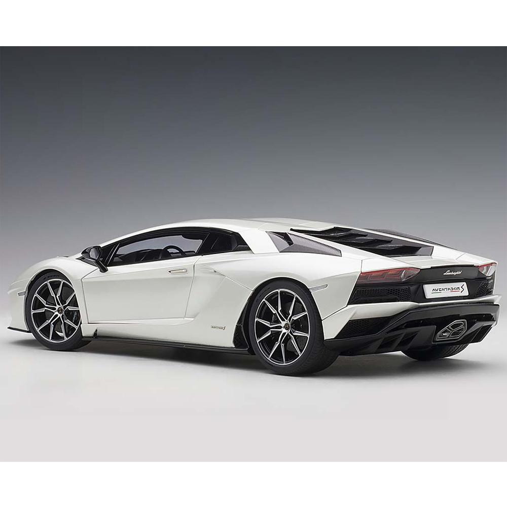 I Scale 1 18 2018 Mercedes Benz Glc Coupe White: AUTOart 79131 Lamborghini Aventador S 1:18 Balloon White