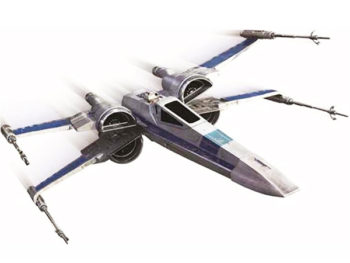 Hot Wheels DMK63 Elite Star Wars The Force Awakens Resistance X Wing Fighter