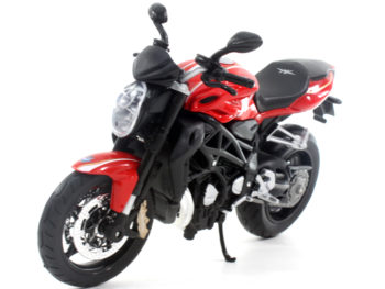 Maisto 11096 2012 MV Agusta Brutale 1090 R 1:12 Red Black