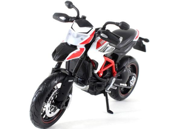 Maisto 13015 2013 Ducati Hypermotard SP 1:12 Black White Red
