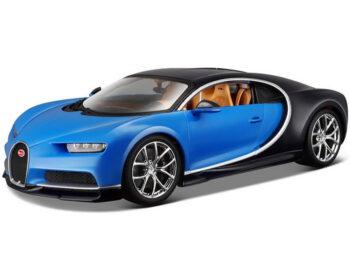 Bburago 18-11040 Bugatti Chiron 1:18 Two-Tone Blue