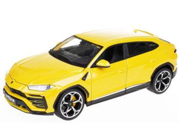 Bburago 18-11042 Lamborghini Urus SUV 1:18 Yellow