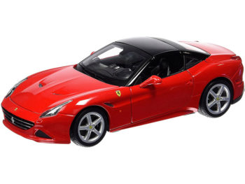 Bburago 18-16003 Ferrari California T Closed Top 1:18 Red