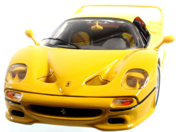 Bburago 18-16004 Ferrari F-50 1:18 Yellow