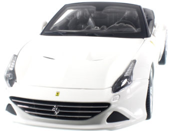 Bburago 18-16007 Ferrari California T Open Top 1:18 White