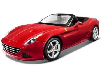 Bburago 18-16007 Ferrari California T Open Top 1:18 Red