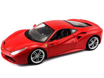 Bburago 18-16008 Ferrari 488 GTB 1:18 Red