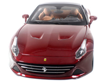 Bburago 18-16902 Signature Series Ferrari California T Closed Top 1:18 Dark Red