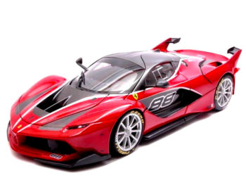 Bburago 18-16907 Signature Series Ferrari Fxx K #88 1:18 Red