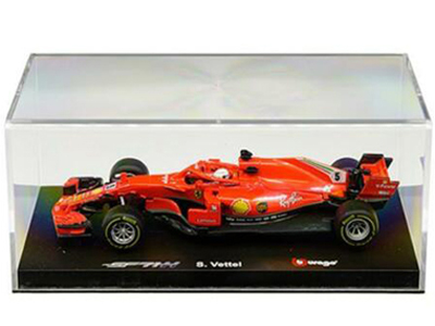 Bburago 18-36808 SV Ferrari Racing Formula F 1 SF71-H 2018 1:43 #5 Sebastian Vettel